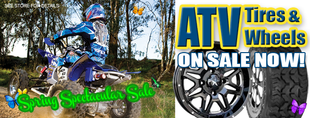 ATV Tires & Wheels On Sale now! Spring Spectacular Sale!