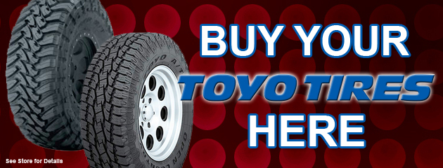 Buy Your Toyo Tires Here!