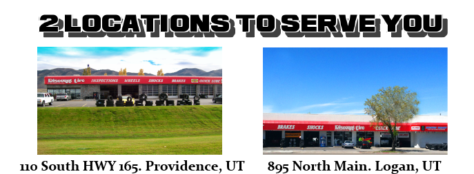 Welcome to Discount Tire in Logan, UT 84321 and Providence, UT 84332